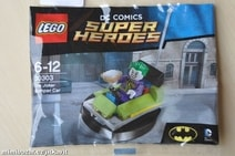 Lego Super Heroes The Joker Bumper Car 30303